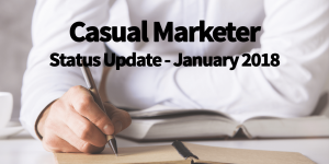 Casual Marketer Status Report
